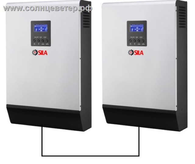 Система инверторов SILA-M 8кВт
