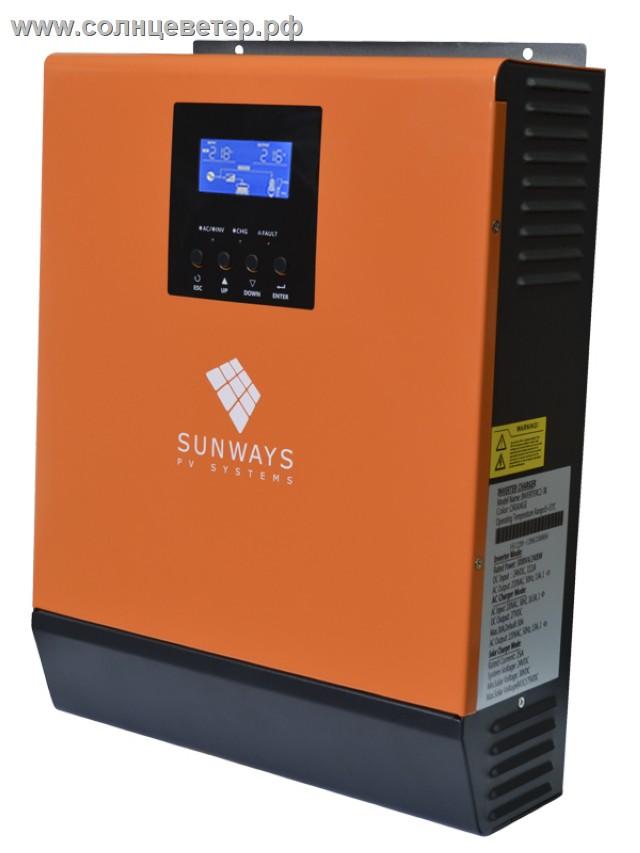 Sunways UMX-NG 3KVA Plus 24V MPPT