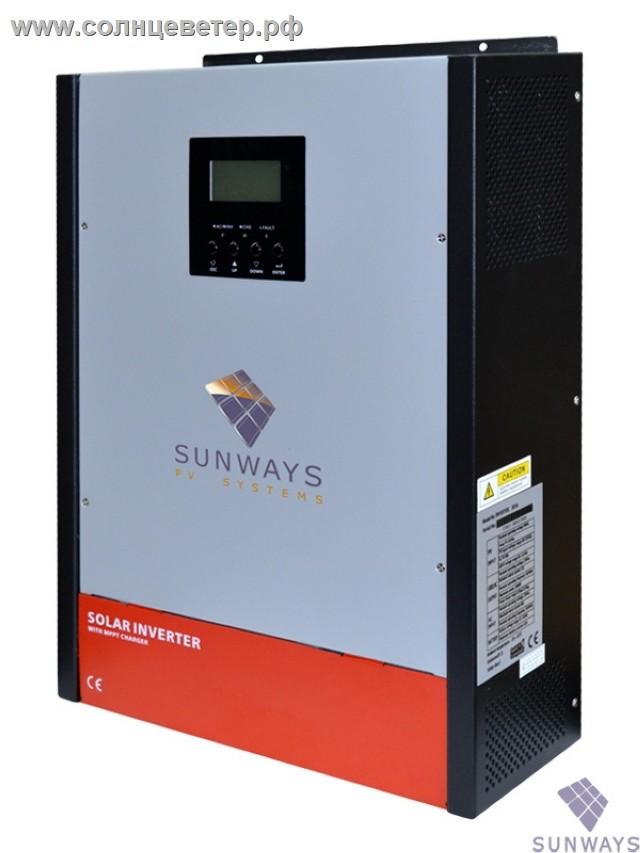 Sunways Hybrid 3K 80A MPPT 48V