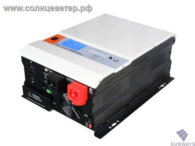 Sunways SX Inverter 2kW (60A 1500W MPPT) 24V